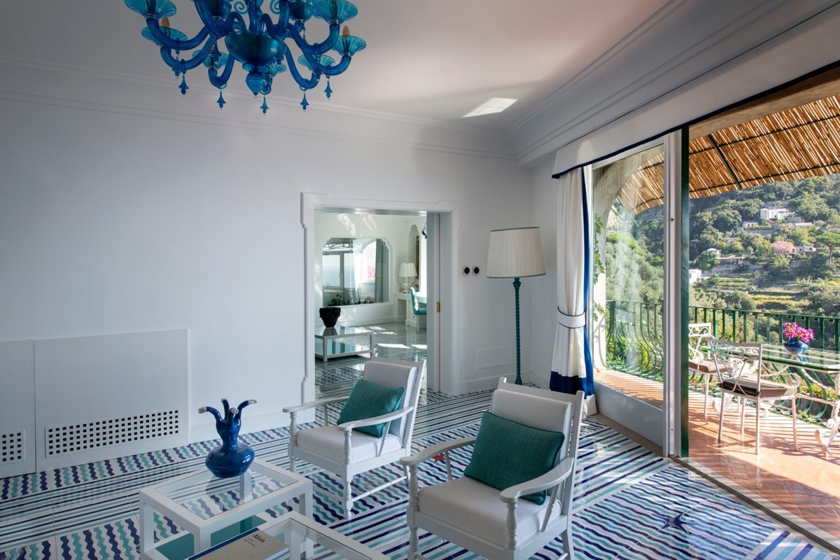 The Virginia Suite at Il San Pietro Positano