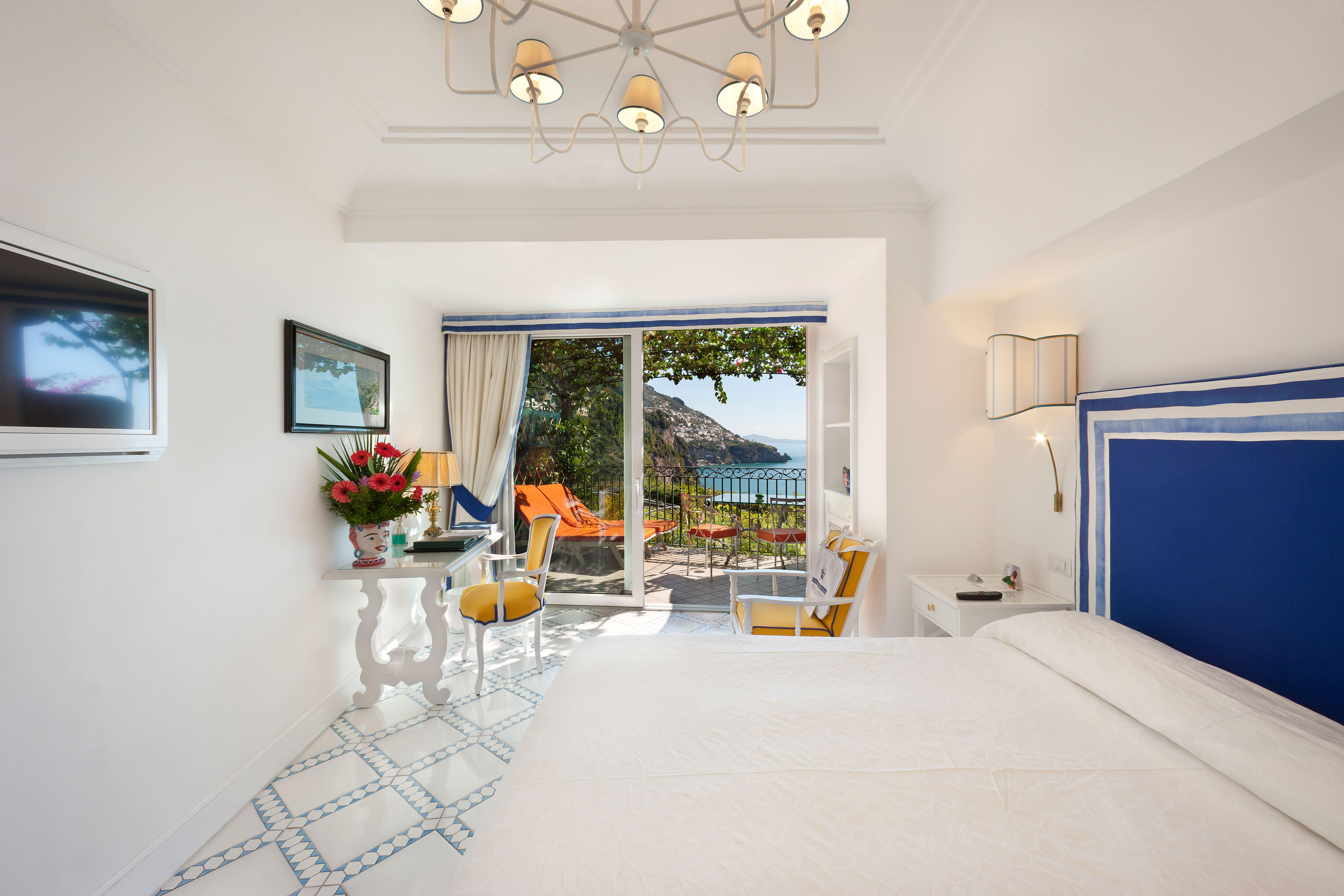 Classic room at il san pietro positano