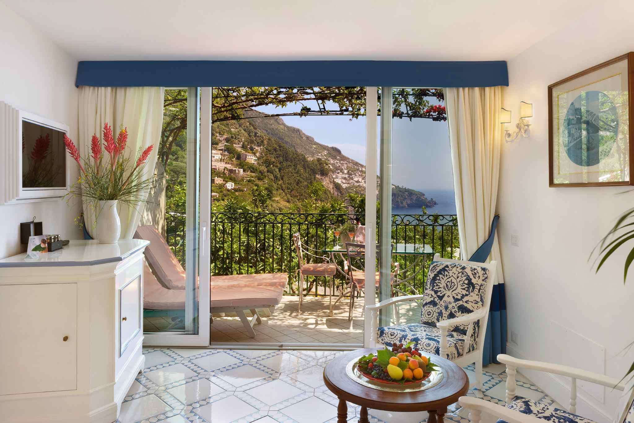Deluxe room at il san pietro positano