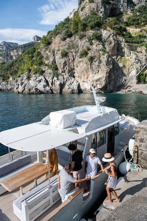 excursions - boat ride at Il San Pietro Positano