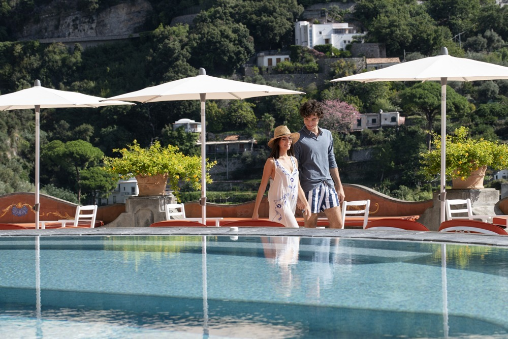 Swimming pool of Relais & Chateaux Il San Pietro di Positano